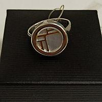 Кольцо с перламутром, размер 18,5