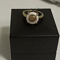 Кольцо с цирконом; 16,5 размер