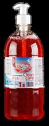 """Жидкое мыло Эконом """"Clean care"""" Oxima с дозатором 1 л для рук"""