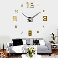 Настенные 3Д часы. Большие настенные 3D часы для дома и офисы