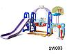 Детский игровой комплекс SW003 синий