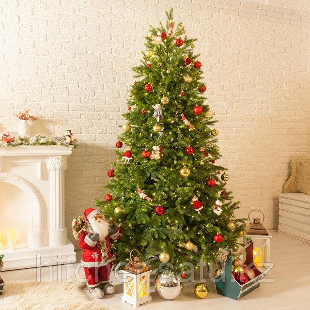 """Зелёная новогодняя елка премиум класса с литыми веточками """"Alaska Platinum"""" - 210 см"""