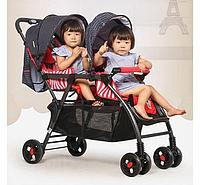 Детская коляска для погодок Паровозик 705