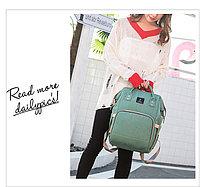 ОРИГИНАЛЬНЫЙ рюкзак POFUNUO - уникальный помощник для молодой мамы! Бирюзовый