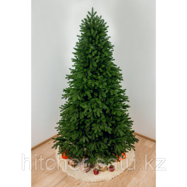 """Тёмно-зелёная ель с широкой хвоей """"Алма-Атинская"""" 230 см"""