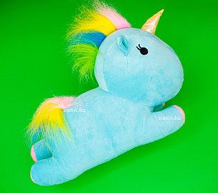 Мягкая игрушка голубой Единорог