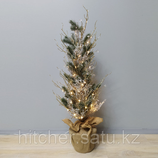 """Новогодняя елка """"Кристалл"""" 90 см с подсветкой"""