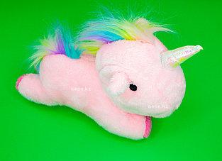 Мягкая игрушка розовый Единорог