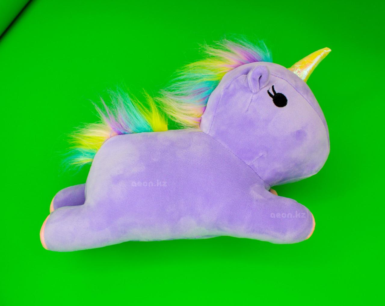 Мягкая игрушка фиолетовый Единорог
