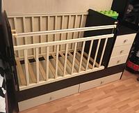Кроватка-трансформер детская Фея 1100 Венге-бежевый