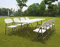 Складной стол усиленный (180х76) для пикника