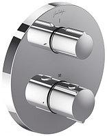 Встраиваемый смеситель, термостат, круглый дизайн