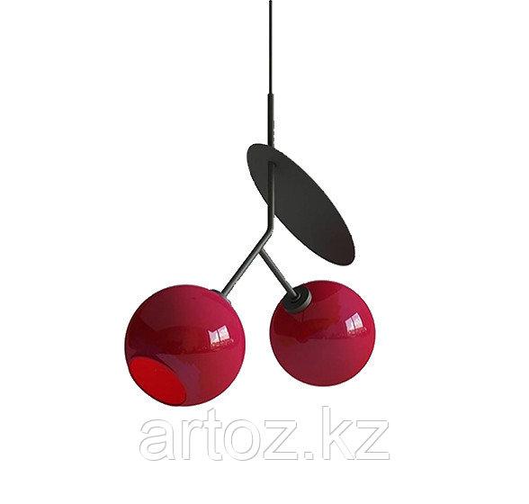 Cветильник подвесной Hanging lamp cherry-2 (red)