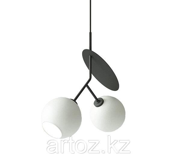 Cветильник подвесной Hanging lamp cherry-2 (black)
