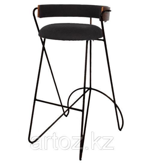Стул барный LOOP BAR stool (Black)