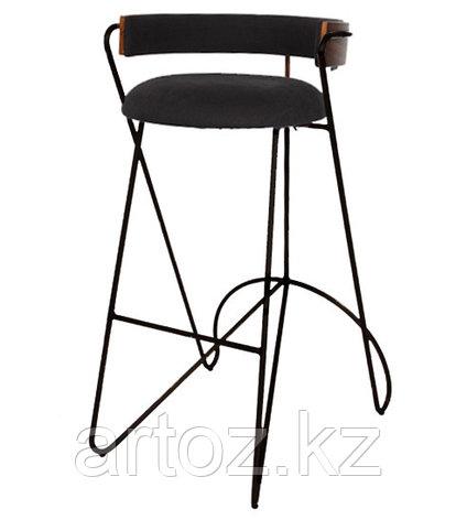 Стул барный LOOP BAR stool (Black), фото 2