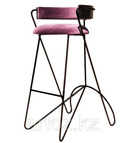 Стул барный LOOP BAR stool (Pink)