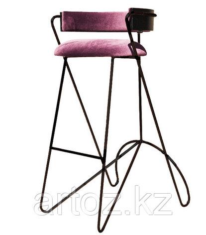 Стул барный LOOP BAR stool (Pink), фото 2
