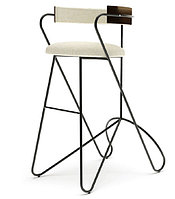Стул барный LOOP BAR stool (White)