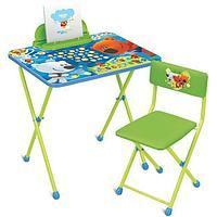 Набор мебели стол+стол НИКА МиМиМишки c игрой от 3 до 7 лет