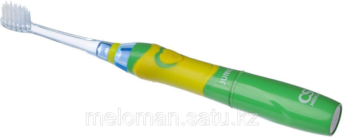CS Medica: Электрическая зубная щетка Sonic Pulsar CS-562 Junior 5-12 лет, зеленый - фото 3