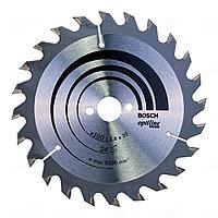 Диск пильный Bosch 160*20*24 Optiline Wood 2608640596