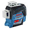 Построитель плоскостей Bosch GLL 3-80CG + BM1 + 12V+ L-Boxx 0601063T00