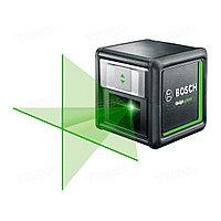 Лазер с перекрёстными лучами Bosch Quigo Green + MM2 0603663C00