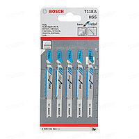 Набор пилок для лобзика Bosch T118A 2608631013