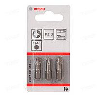 Набор бит Bosch PZ3 25мм 2607001562