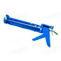 Пистолет для герметиков полукорпусный гладкий шток Hobbi 23-1-001