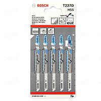 Пилки для лобзика Bosch T227 D HSS 2608631030