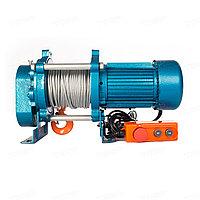 Лебедка TOR KCD-500 E21 (ЛЭК-500) 500кг с канатом 100м