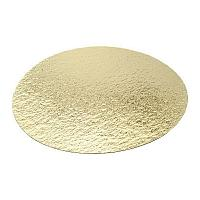 Подложка усиленная золото D 32 мм (толщина 2,5 мм) 10 шт/упак