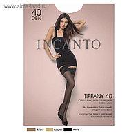 Чулки INCANTO Tiffany 40, цвет чёрный (nero), размер 1/2