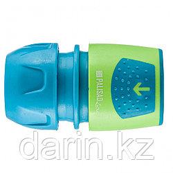 Соединитель быстросъемный для шланга 1/2-3/4, АВС-пластик Palisad Luxe