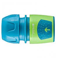 Соединитель быстросъемный для шланга 1/2-3/4, аквастоп, АВС-пластик Palisad Luxe
