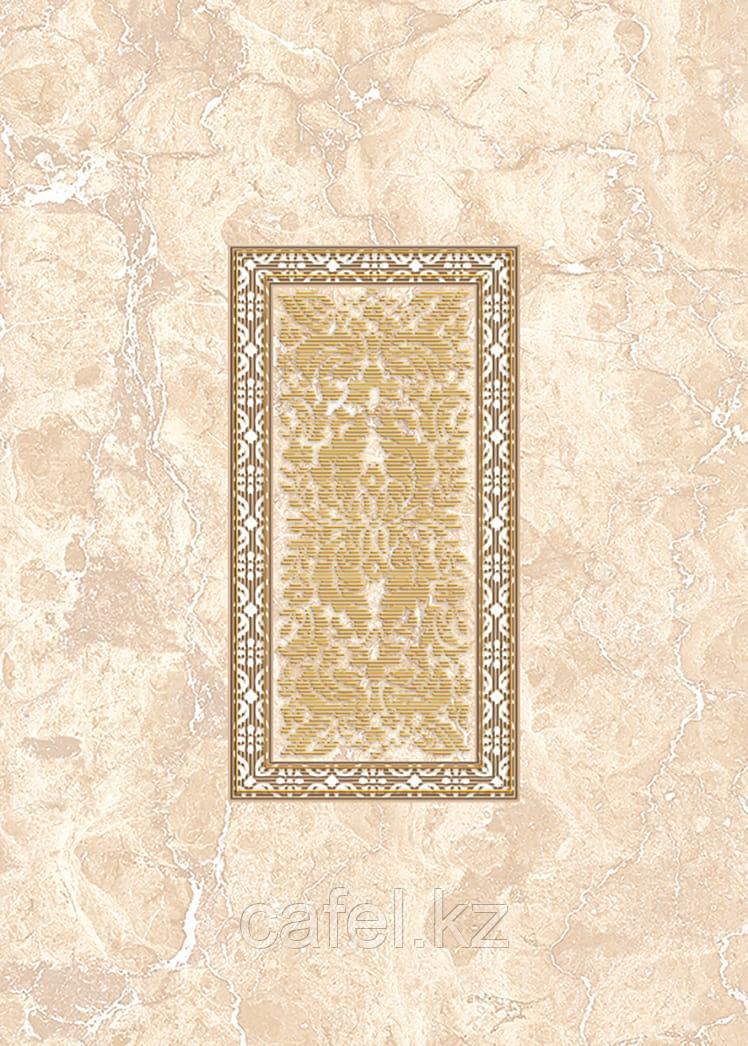 Кафель | Плитка настенная 25х35 Исабель | Isabel бежевый вставка D