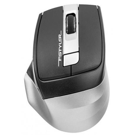 Мышь беспроводная A4tech Fstyler FB-35 (FB-35-SMOKY-GREY), серый+черный