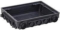 Коробка напольная ONFLOOR 12 модулей (KNU-12-PA-9011)