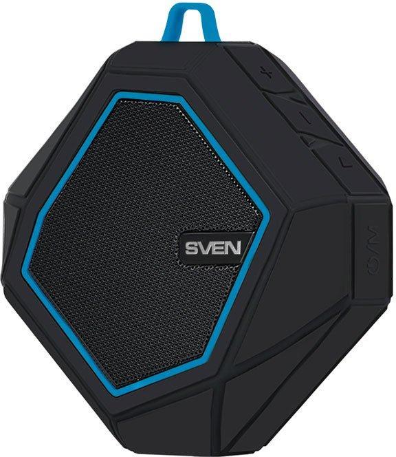 Портативная колонка Sven PS-77 Black/Blue (SV-016432) черно-синий