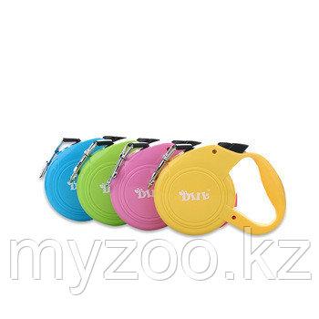 Рулетка поводок DIIL Zun Bao, цвета в ассортименте, лента, 3м, 10 кг