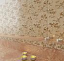 Кафель | Плитка настенная 25х35 Дориан | Dorian бежевый бордюр, фото 4
