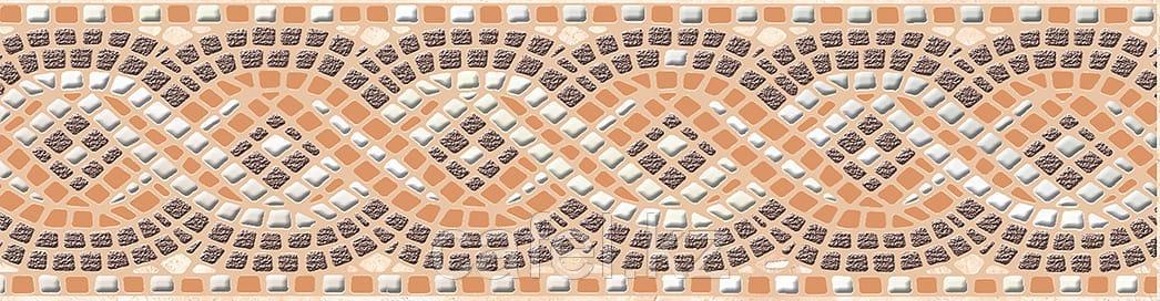 Кафель | Плитка настенная 25х35 Непал | Nepal бежевый Бордюр В1