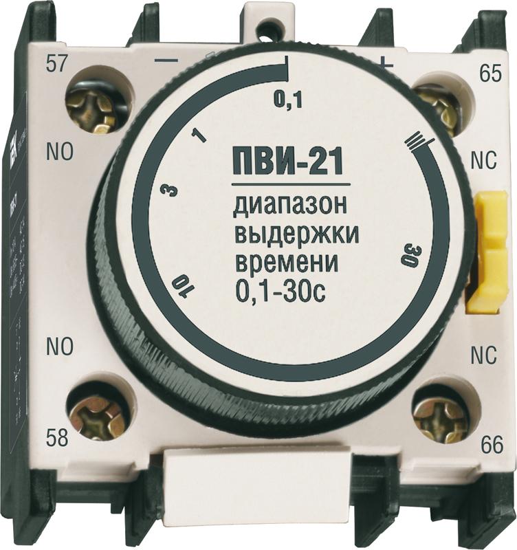 Приставка ПВИ-21 задержка на выкл.0,1-30сек. 1з+1р ИЭК