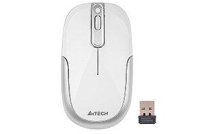 Мышь беспроводная A4tech G9-110H(F) WHITE Оптическая USB