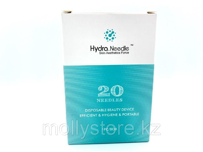 Роллер Hydra 20Pin Titanium 1 мм Micro Needle Derma Stamp Bottle для инъекций сыворотки
