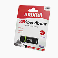 Флешка USB Speedboat 64GB 3.1 black Maxell