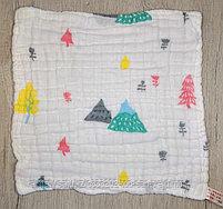 Муслиновые платочки(25х25 ), фото 4