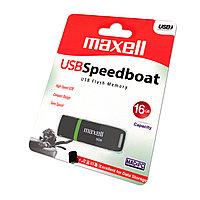 Флешка Maxell USB Speedboat 16GB 2.0 black